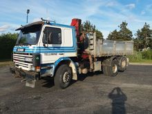 1985 SCANIA 112 dump truck
