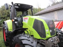 2008 CLAAS Axion 820 wheel trac