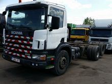 2001 SCANIA 114 340 chassis tru