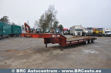 1996 LOWLOADER low bed semi-tra