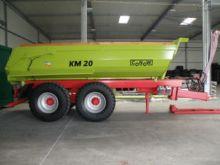 2017 CONOW KM 20 tipper trailer