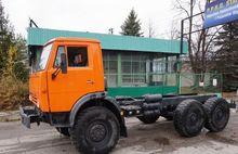 1990 KAMAZ 43101 chassis truck