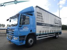2007 DAF CF65 closed box truck