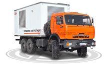 KAMAZ 43118 closed box truck