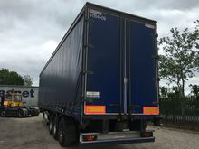 MONTRACON CURTAIN SIDE TRAILER,