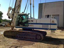 2002 SOILMEC CM 70 drilling rig