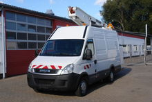 2010 IVECO Daily 35S13 Hubarbei