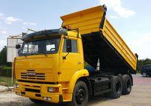 2005 KAMAZ 651 dump truck