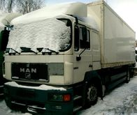 1996 MAN 19.403 closed box truc