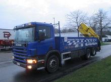 2001 SCANIA P94, crane trucks f