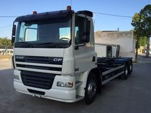 DAF CF85.380 container chassis