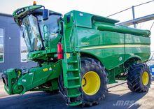 2014 JOHN DEERE S670 combine-ha