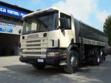 2001 SCANIA P260 milk tanker