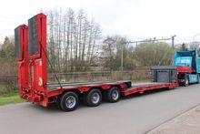 2002 GOLDHOFER low bed semi-tra