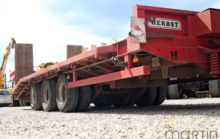 2003 Herbst low bed semi-traile
