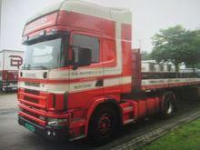 2000 SCANIA 124 platform truck