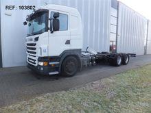 Used 2010 SCANIA R50