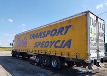 1995 TRAILOR tilt semi-trailer