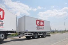 PRIME MOVER closed box trailer