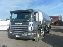 2002 SCANIA P114G tank truck by
