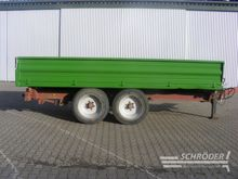 1995 Obermaier UMT 89 T tipper