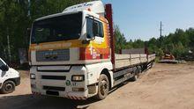 2001 MAN 26.362 flatbed truck
