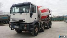 2002 IVECO concrete mixer truck