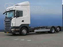 2009 SCANIA R420 container chas