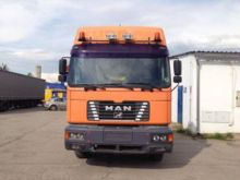 2000 MAN 26.414 flatbed truck
