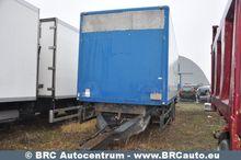 1999 ZGL290 closed box trailer