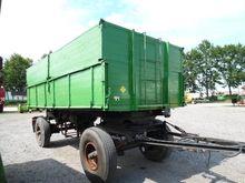 ALBERT 12T tipper trailer