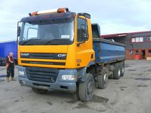 DAF CF85.340 dump truck by auct