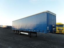 2011 KRONE SD tilt semi-trailer