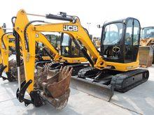 2015 JCB JS 8055 RTS mini digge