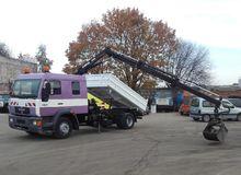 1999 MAN 15.224 dump truck