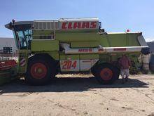 1996 CLAAS Mega 204 harvester