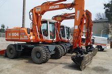 ATLAS 1504 wheel excavator