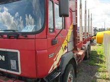 1998 MAN 26.463, timber trucks