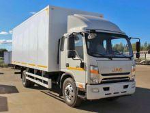2017 JAC N120 closed box truck