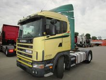 2002 SCANIA R124, 470 hp, with