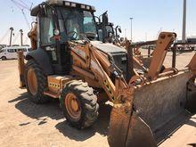2008 CASE 580 SR backhoe loader