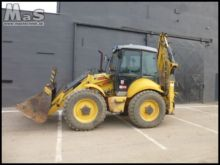 HOLLAND B115.B diesel backhoe l