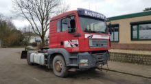 Used MAN TGA chassis