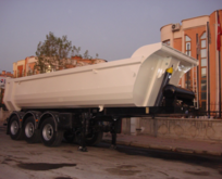 DONAT Semi Trailer tipper semi-