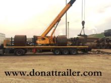 DONAT Flatbed for steel bars fl