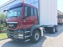 2009 MAN TGS 26.480 chassis tru