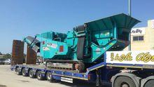 2010 POWERSCREEN XH250 crushing