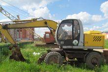 2006 EKSKO 12 wheel excavator
