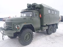 1987 ZIL 131 6x6 with living bo