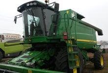2011 JOHN DEERE W540 combine-ha